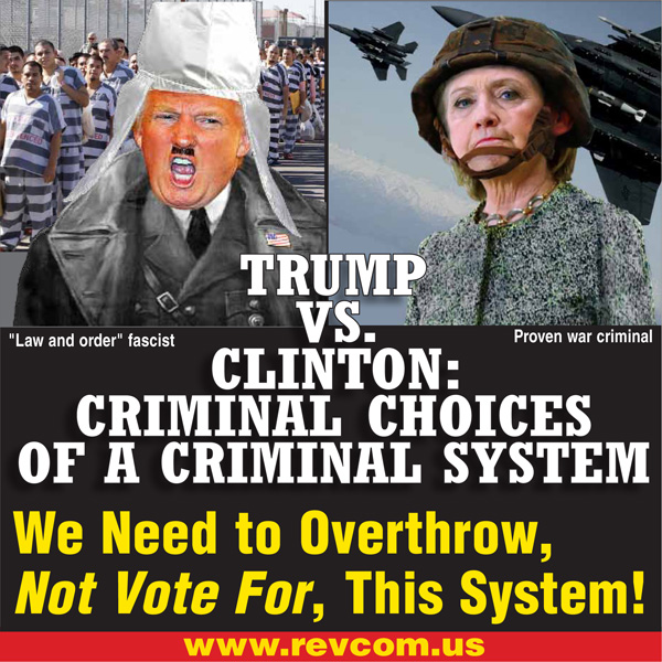 Criminal choices of a criminal system