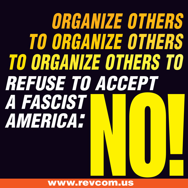 Organize others to organize others to organize others...