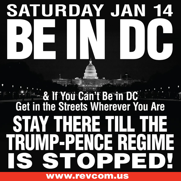 Saturday, January 14. Be in DC!