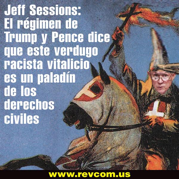 Jeff Sessions, un verdugo racista vitalicio