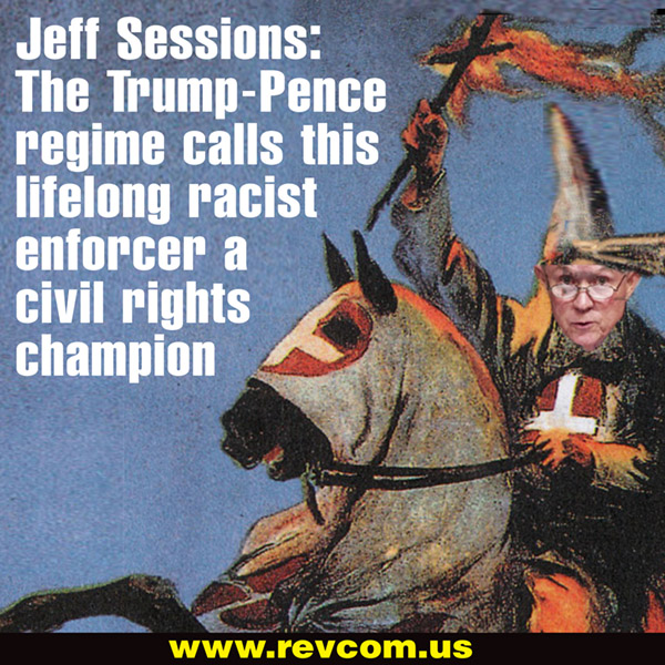 Jeff Sessions, lifelong racist