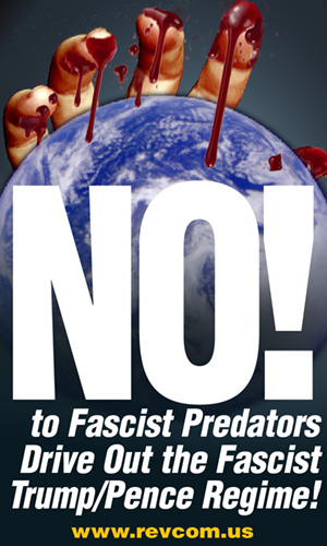 No to Fascist Predators