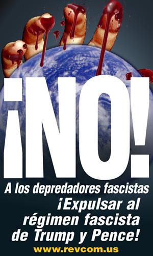 NO a los depredadores fascistas