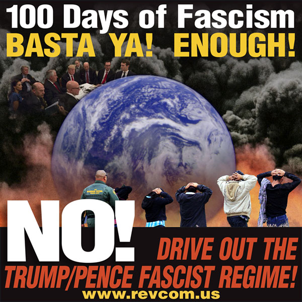 100 days of Fascism: Basta ya! Enough!