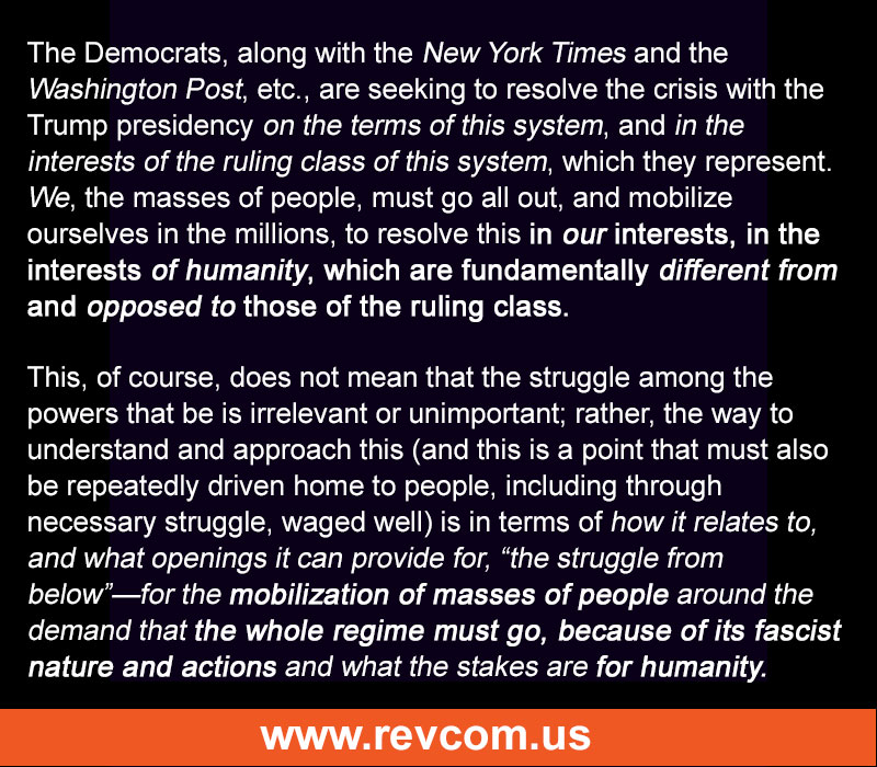 Democrats act in the interest of the ruling class, not us.