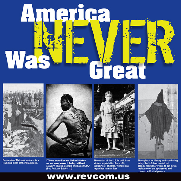 American Never Was Great