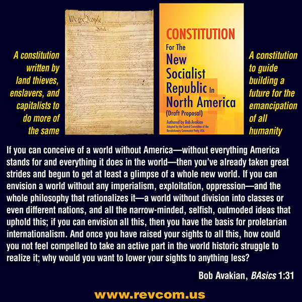 Two Constitutions; Two Different Systems