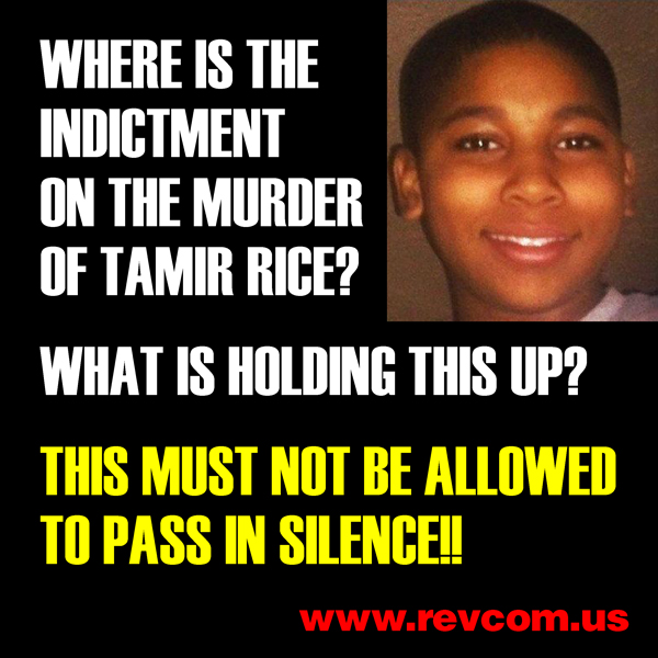 Where is the indictment on the murder of Tamir Rice?