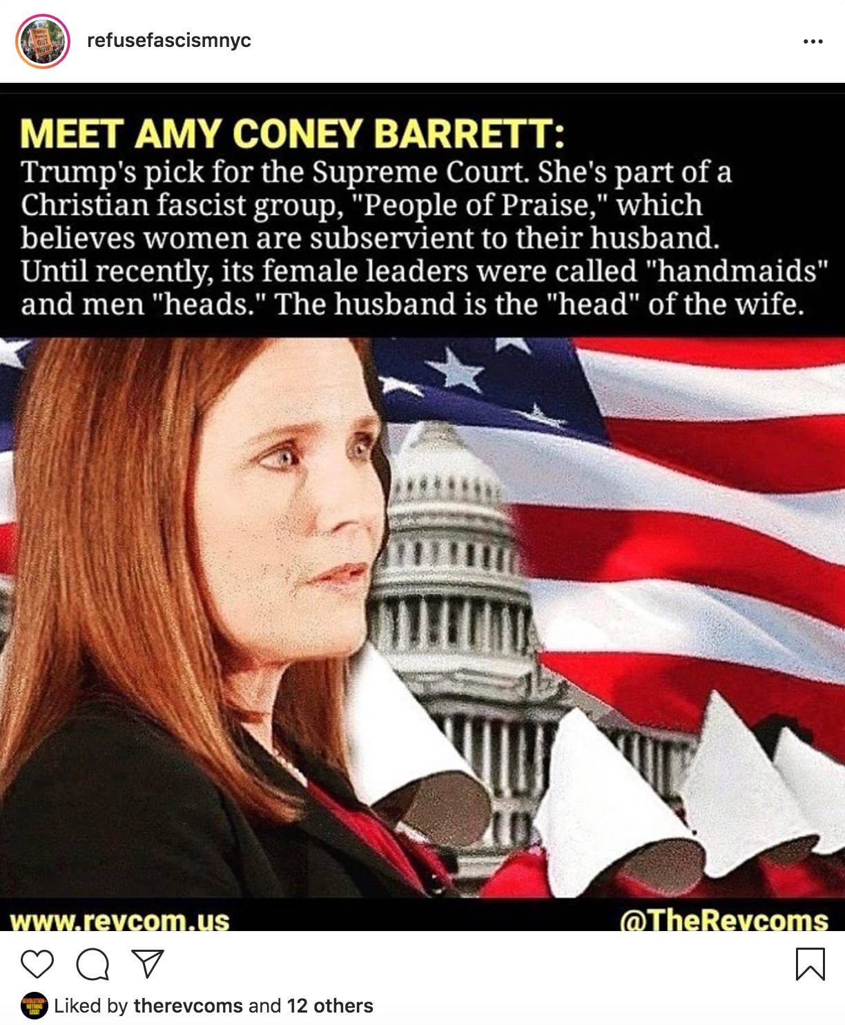 What Are the Christian-Fascists Trying to Hide About Amy Coney Barrett?